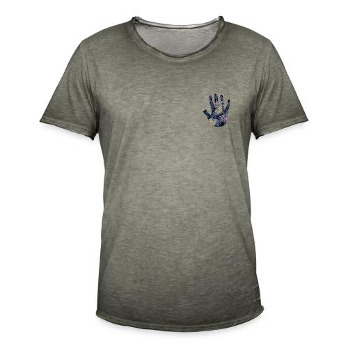 Exotic Flower Hand - Herre vintage T-shirt