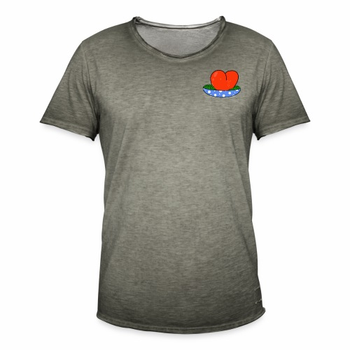 Peas and love - Men's Vintage T-Shirt