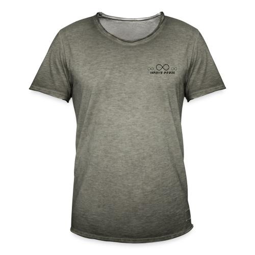 Infinte Power - Mannen Vintage T-shirt