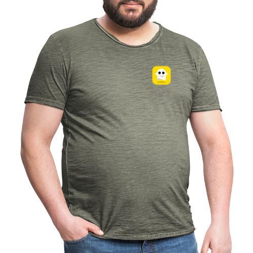Snapchat Shirt - Mannen Vintage T-shirt