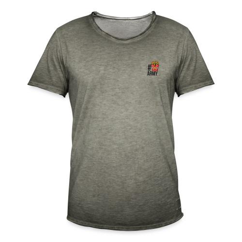 #POMMES-Army Design - Männer Vintage T-Shirt