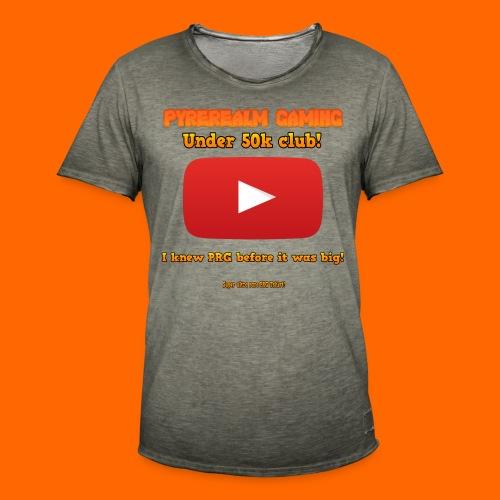PRG 50k Tshirt - Men's Vintage T-Shirt