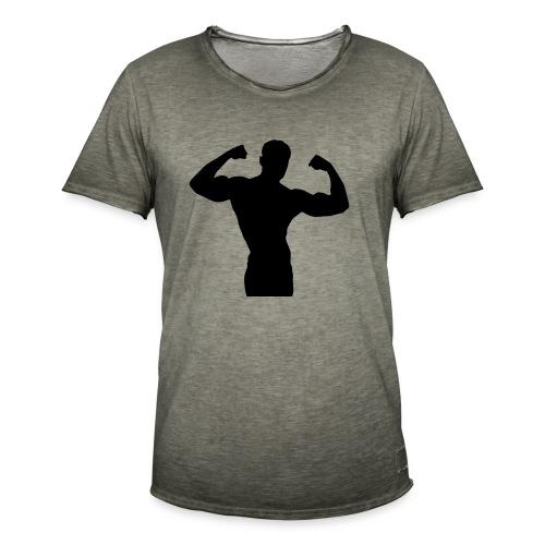 Musculation - T-shirt vintage Homme