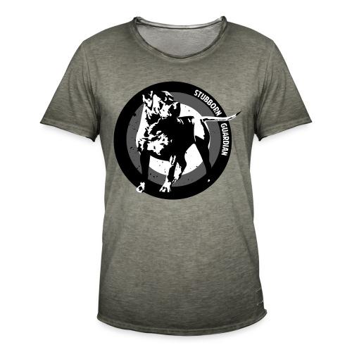 Stubborn Guardian - Miesten vintage t-paita