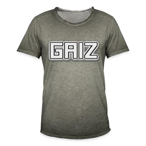 GAIZ-SENZA COLORE-BIANCO - Maglietta vintage da uomo