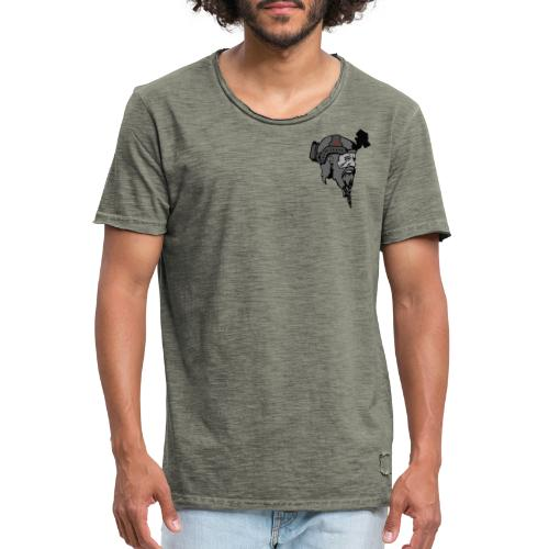 Logo and text SOW - Herre vintage T-shirt
