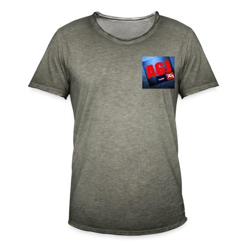 AGJ Nieuw logo design - Mannen Vintage T-shirt