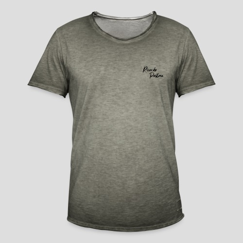 Branding - Black logo - Mannen Vintage T-shirt