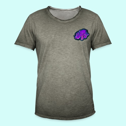pieuvre - T-shirt vintage Homme