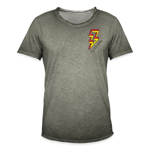 ♂ Lightning - Männer Vintage T-Shirt
