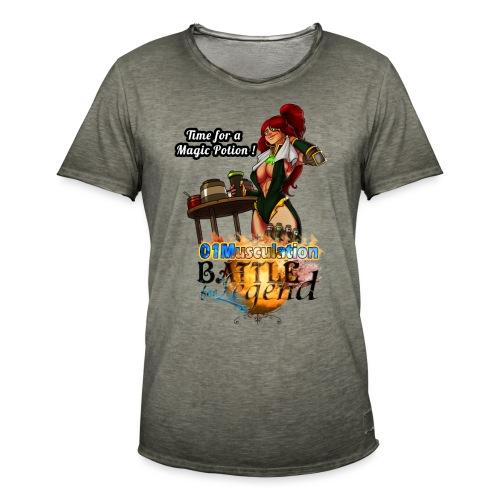 Mythrilisatrice- Battle for Legend X 01Musculation - T-shirt vintage Homme