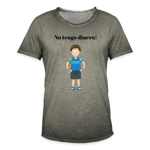 NO TENGO DINERO - Vintage-T-shirt herr