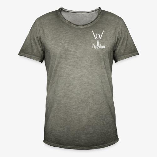 iYpsilon Logo - Männer Vintage T-Shirt