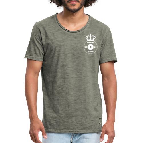 The Barbell Queen - Men's Vintage T-Shirt