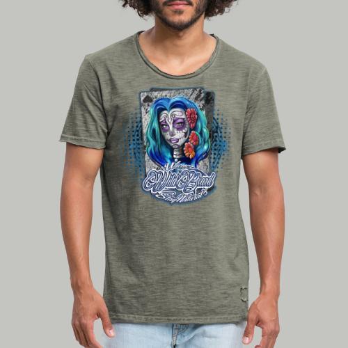 WWB© RockaBella DoubleTrouble (bitte 40°/verkehrt) - Männer Vintage T-Shirt