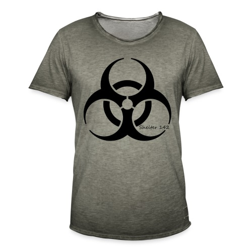 Biohazard - Shelter 142 - Männer Vintage T-Shirt