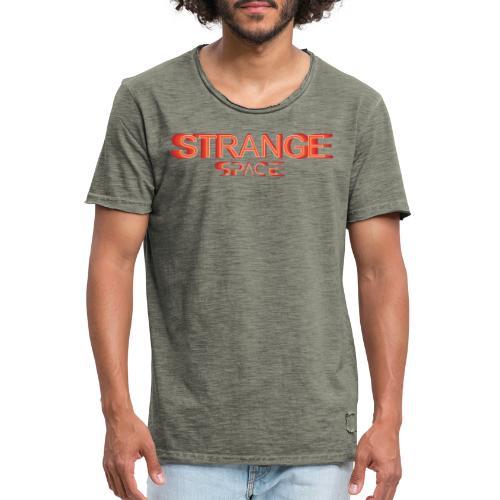 STRANGE SPACE H/F - T-shirt vintage Homme