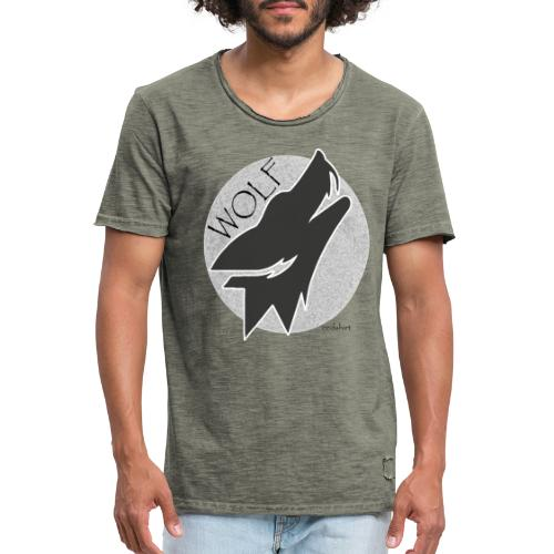 wolf - T-shirt vintage Homme