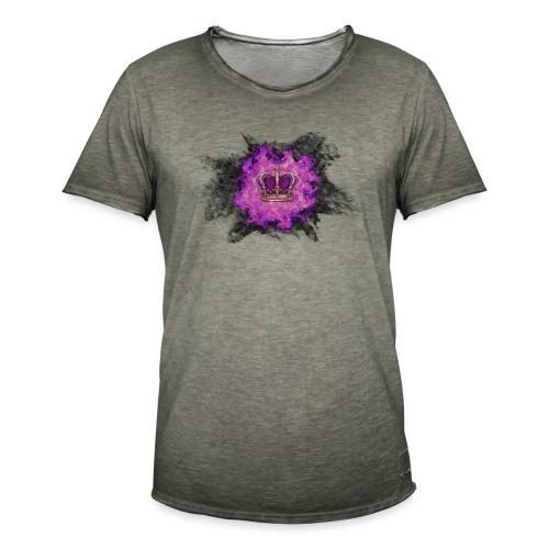 Fire Crown - T-shirt vintage Homme
