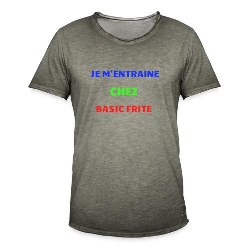 Basic Frite - T-shirt vintage Homme