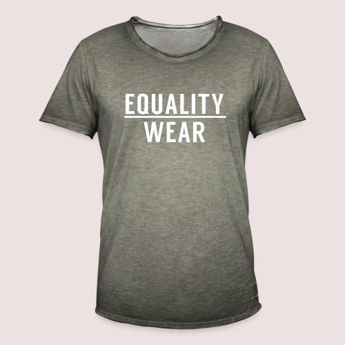 Equality Wear Official Pattern - Men's Vintage T-Shirt