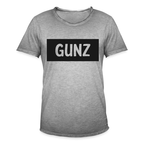 Gunz - Herre vintage T-shirt