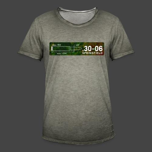 Kalibershirt .30-06 für Jäger und Schützen - Männer Vintage T-Shirt