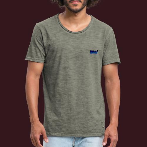 Ares blue - T-shirt vintage Homme