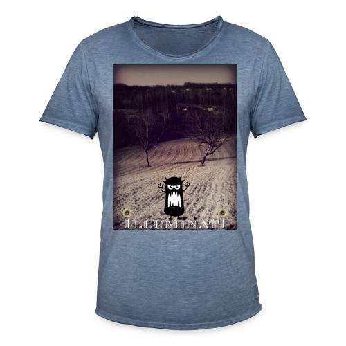 illuminati - T-shirt vintage Homme