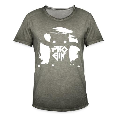 white 01big png - Männer Vintage T-Shirt