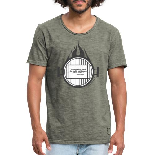 Anthony Bourdain - Männer Vintage T-Shirt