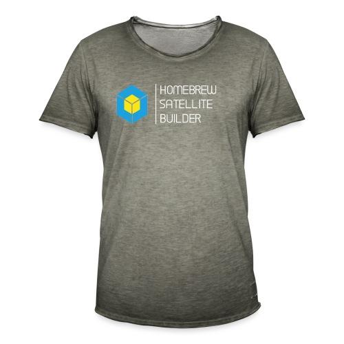 Homebrew Satellite Builder - Men's Vintage T-Shirt