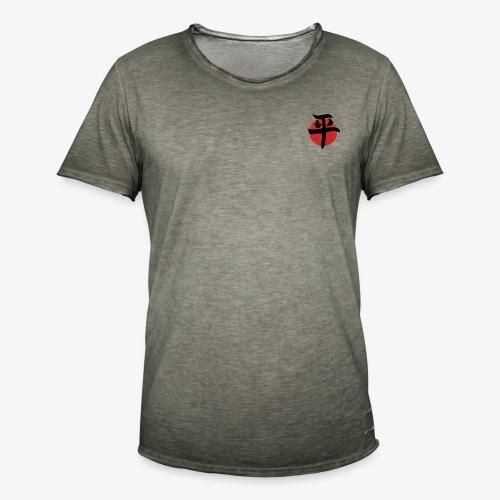 paz letra japonesa - Camiseta vintage hombre