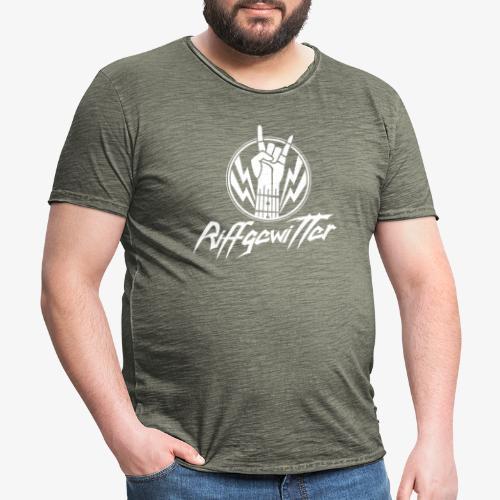 Riffgewitter - Hard Rock und Heavy Metal - Männer Vintage T-Shirt