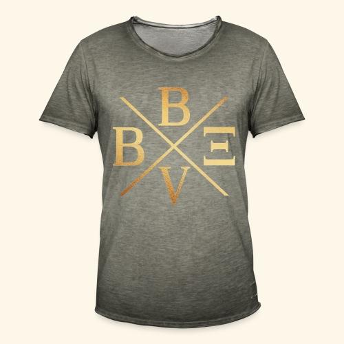 BVBE Gold X Factor - Men's Vintage T-Shirt
