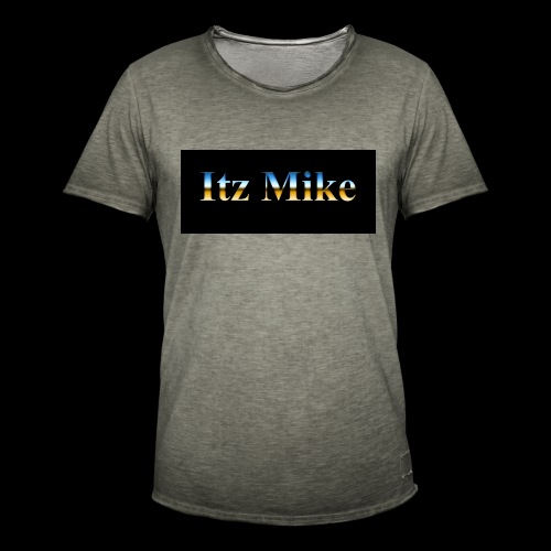Itz Mike Merch - Men's Vintage T-Shirt