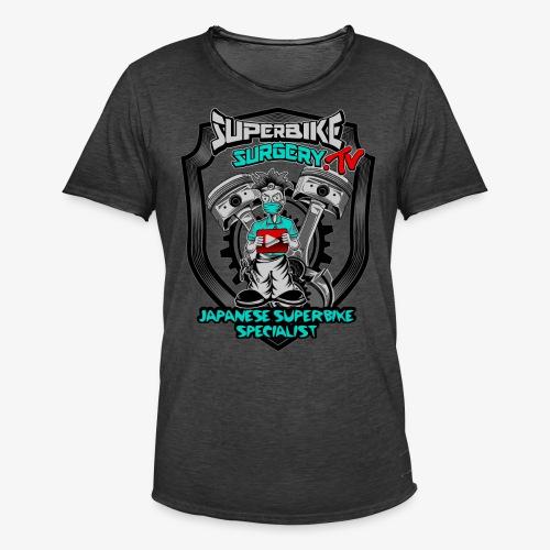Superbike Surgery TV - Men's Vintage T-Shirt