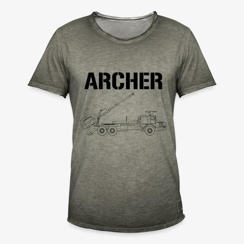 Artillerisystem ARCHER - Vintage-T-shirt herr