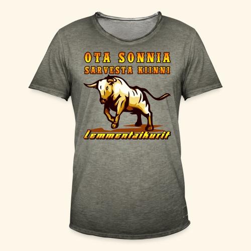 Lemmentaikurit - Sonni - Miesten vintage t-paita