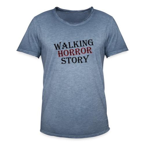 walking Horror story - Mannen Vintage T-shirt