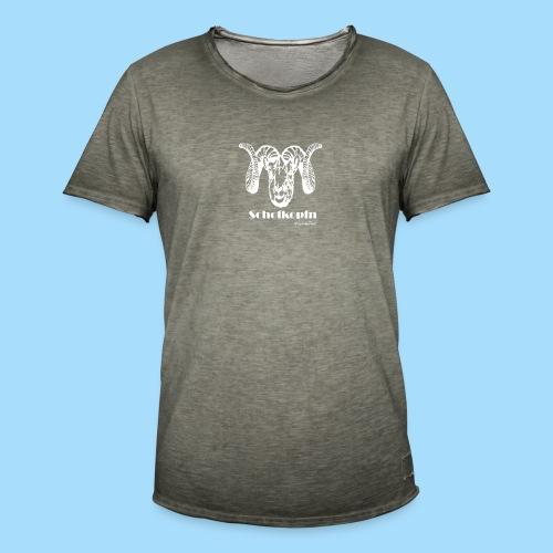 Schofkopfn - Männer Vintage T-Shirt