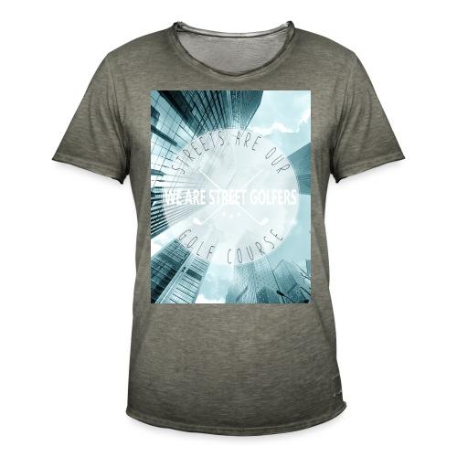Grattes ciel - T-shirt vintage Homme
