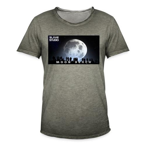 Moon beach - Maglietta vintage da uomo
