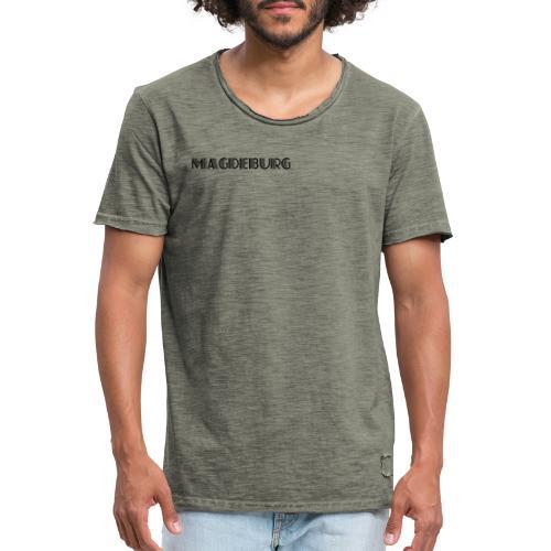 Magdeburg - Meine Stadt - Männer Vintage T-Shirt