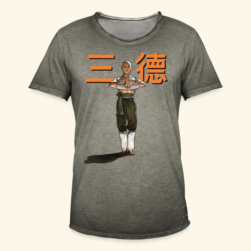 Gordon Liu - San Te - Monk (Official) 6 dots - Mannen Vintage T-shirt