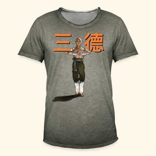 Gordon Liu - San Te - Monk ( Official) 9 dots - Mannen Vintage T-shirt