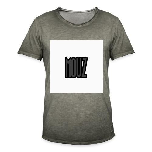 Mouz Black and Grey Design - Men's Vintage T-Shirt