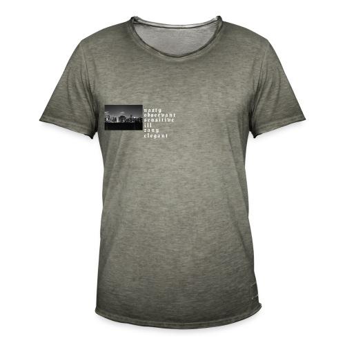 NoSize | Dark - Männer Vintage T-Shirt