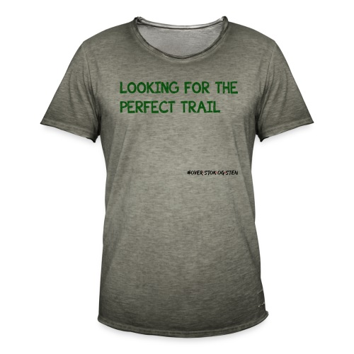 looking for the perfect trail - Herre vintage T-shirt