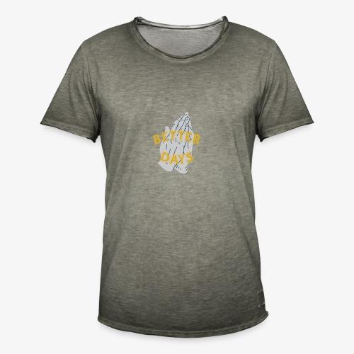 Better days2633 square - Camiseta vintage hombre